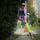 Šaty - Origo teplakošky kvety limit - 12097583_