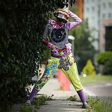 Šaty - Origo teplakošková súprava kvety kruh - limit - 12097601_