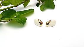 Náušnice - Porcelánové náušničky  - 12098973_
