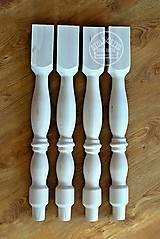 Nábytok - Sústružená noha na jedálenský stôl VIII. - 12099404_