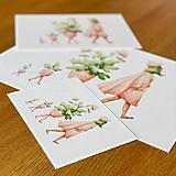 Grafika - Prechádzka - Print | Botanická ilustrácia - 12100890_