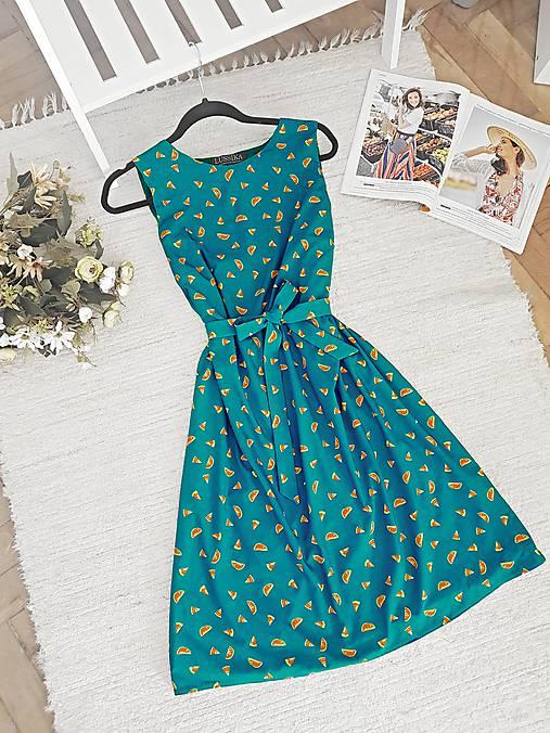 Šaty - Melónikové šaty  - 12098298_