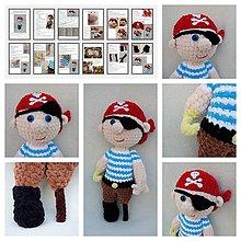 Návody a literatúra - Návod na háčkovanie - pirátik - 12100369_