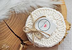 Úžitkový textil - * Odličovacie tampóny * - 12099752_
