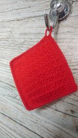 Úžitkový textil - Háčkovaný uteráčik - 12098822_