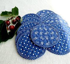 Úžitkový textil - Ručne prešívané FILKI keksíky - 12100559_