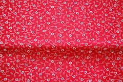 Textil - metráž kvietok - 12099274_