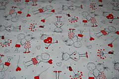 Textil - metráž zalúbená - 12099438_