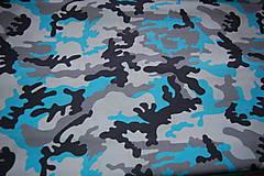Textil - metráž maskáč - 12099534_