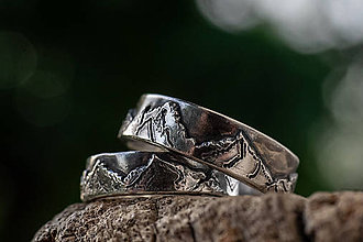 Prstene - Láska hory prenáša ... s vlastnou panorámou  - 12102571_