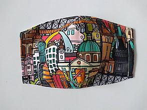 Rúška - Dizajnové rúška (I love Czech republic) - 12101283_