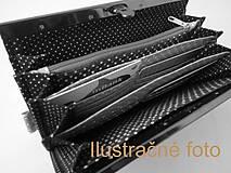 Peňaženky - Peňaženka s priehradkami Lúčne rastlinky - 12101453_