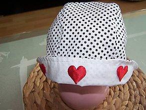 Detské čiapky - detský čepček - 12102612_