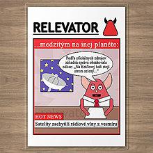 Papiernictvo - Linajkové podložky do zošita z planéty Relevator - záhadný signál - 12102187_