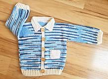 Detské oblečenie - Melírovaný svetrík - 12103724_