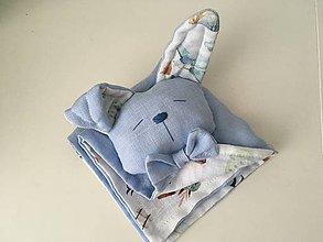 Hračky - Detsky ľanovy mojkacik - 12104514_