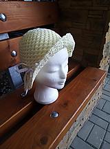 Detské čiapky - Dievčenský klobúčik - 12103834_