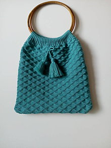 Nákupné tašky - Pletené tašky - 12103703_