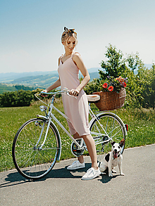 Šaty - Letné šaty na ramienka - 12104666_