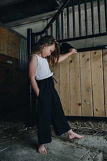 Detské oblečenie - KIARA NOHAVICE ČIERNE - 12108057_