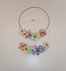 Náhrdelníky - lel,náhrdelník pearls flowers 194 - 12106536_