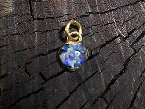 Náhrdelníky - little opals heart-in gold - 12108004_