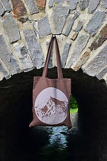 Nákupné tašky - Taška KRIVÁŇ / Vysoké Tatry - 2 494,7 m n. m. - 12105616_