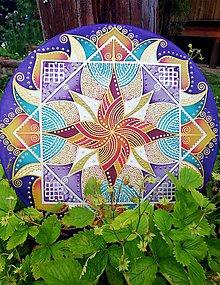 Dekorácie - Mandala...Šťastné smery radosti, sily a vitality - 12106667_
