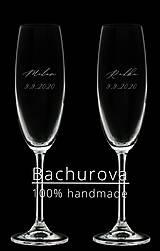 Nádoby - Svadobné poháre  - 12106072_
