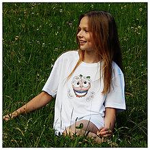 Detské oblečenie - Detské tričko - OčiPuči Margarétka ♥♥ - 12110210_