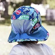Detské čiapky - Letný širák autíčka s vetraním - 12108363_