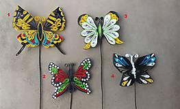 Motýľ 1 - zapichovačka do kvetináča