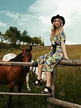 Šaty - Letné zavinovacie šaty - 12109800_