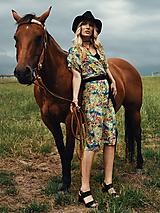Šaty - Letné zavinovacie šaty - 12109811_