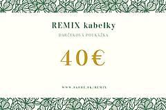 Darčekové poukážky - Darčeková poukážka 30€ - 70€ - 12108752_