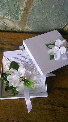 Papiernictvo - Poďakovanie rodičom v krabičke - 12108586_