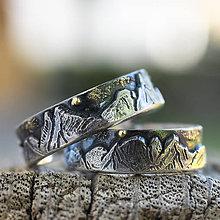 Prstene - Láska hory prenáša pre Katku a Peťa - 12113472_