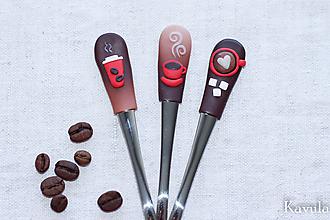 Pomôcky - Trio káva kávička - 12113312_