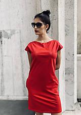 Šaty - FNDLK úpletové šaty 478 RKkL - 12112481_