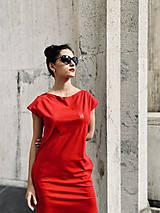 Šaty - FNDLK úpletové šaty 478 RKkL - 12112482_