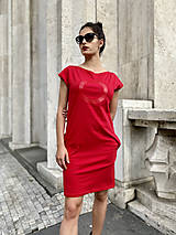 Šaty - FNDLK úpletové šaty 478 RKkL - 12112483_