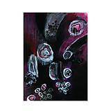 Obrazy - pomoc . akvarel a akryl . kombinovaná technika na výkrese . A4 - 12113212_