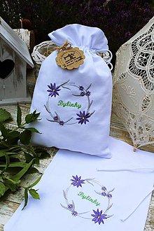 Úžitkový textil - Vrecko na bylinky - 12112706_