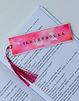 Papiernictvo - Záložka - #knihomolka - 12111990_