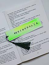 Papiernictvo - Záložka - #knihoholik - 12112089_