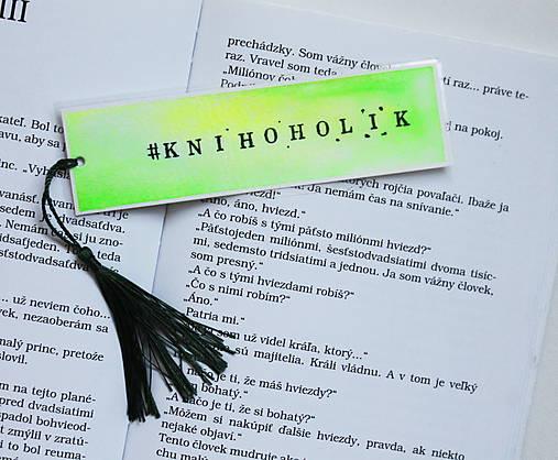 Záložka - #knihoholik