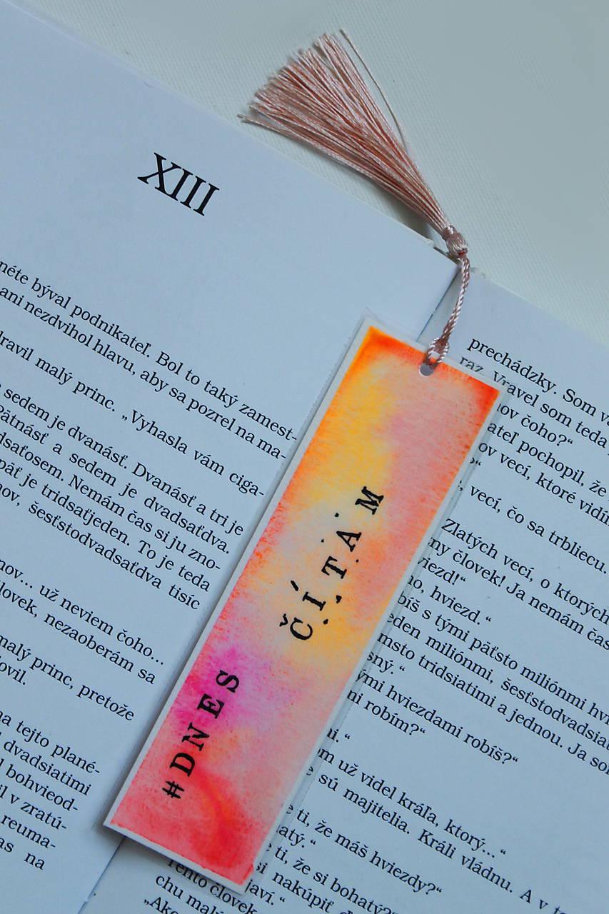 Záložka - #dnes čítam