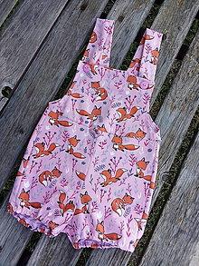 Detské oblečenie - Líštičkové č 86 - 12112583_