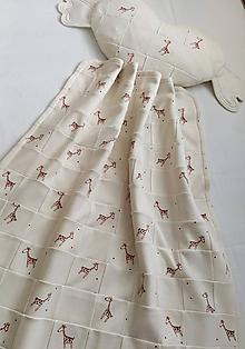 Textil - Dečka a vankúšik pre bábätko patchwork biobavlna - 12111804_