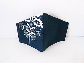 Rúška - 3 vrst.modrotlač - 12111444_